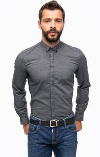 Серая рубашка с длинными рукавами Antony Morato