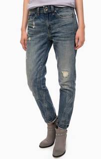 Рваные джинсы бойфренды G Star RAW