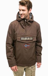 Куртка-анорак с нашивками Napapijri