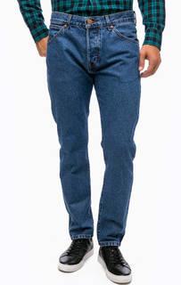 Синие джинсы зауженного кроя Wrangler
