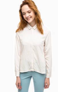 Приталенная рубашка с удлиненной спинкой Stefanel