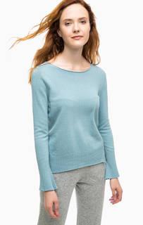 Синий джемпер с длинными рукавами Stefanel