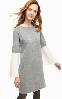 Шерстяное платье-свитер Stefanel