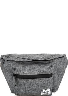 Поясная сумка серого цвета Herschel