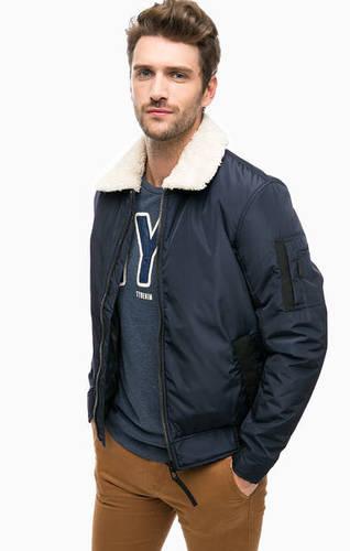 Демисезонная куртка со съемным мехом