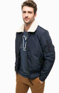 Демисезонная куртка со съемным мехом Tom Tailor