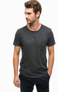 Серая футболка с карманом Tom Tailor Denim
