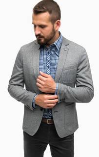 Трикотажный пиджак с карманами Lerros