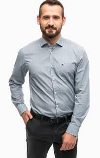 Приталенная рубашка из хлопка Lerros