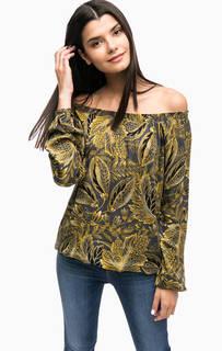 Блуза из вискозы с открытыми плечами Lerros