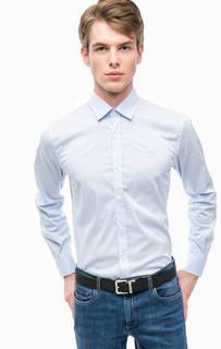 Приталенная рубашка в полоску Trussardi Jeans