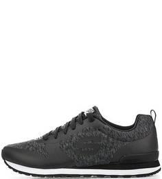 Серые кроссовки на шнуровке Skechers