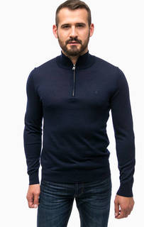 Тонкий шерстной джемпер с круглым вырезом Gant
