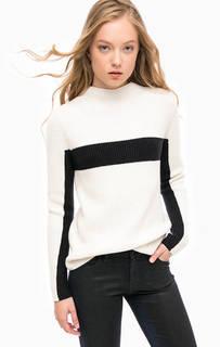 Вязаный джемпер из хлопка и кашемира Calvin Klein Jeans
