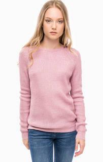 Трикотажный сиреневый свитер Kocca