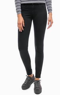 Зауженные черные брюки Kocca