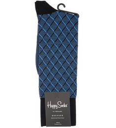 Синие хлопковые носки Happy Socks