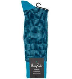 Двухцветные хлопковые носки Happy Socks