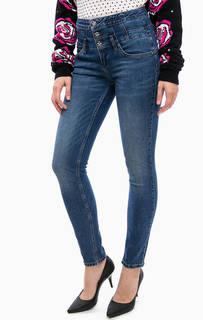 Зауженные джинсы с высокой посадкой Silvian Heach