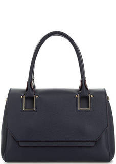 Кожаная сумка с широким плечевым ремнем Gironacci