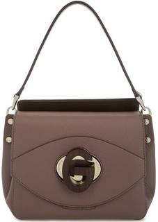 Маленькая кожаная сумка с откидным клапаном Gironacci