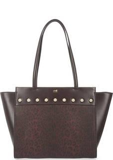 Вместительная сумка на молнии Cavalli Class
