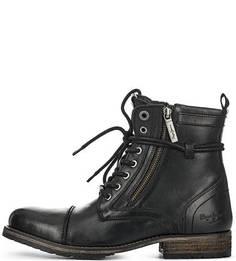 Ботинки с застежкой на молнии и шнуровкой Pepe Jeans