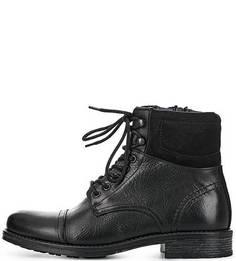 Кожаные ботинки на молнии Aldo