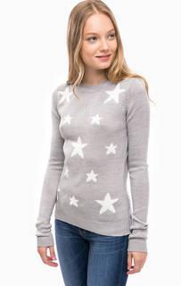 Серый трикотажный свитер Blue Seven