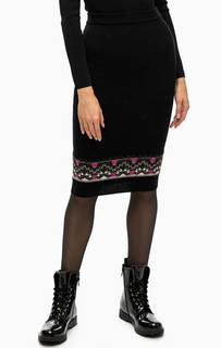 Трикотажная зауженная юбка Pinko