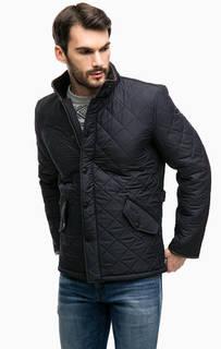 Куртка на двухзамковой молнии и кнопках Barbour