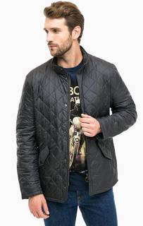Стеганая куртка с воротником-стойкой Barbour