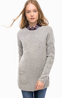 Шерстяной свитер с карманами Barbour