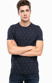 Синяя футболка из хлопка Tommy Hilfiger