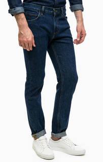 Синие джинсы с пятью карманами Lee