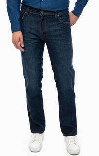 Синие джинсы прямого кроя Wrangler