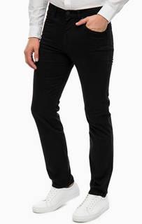 Черные хлопковые брюки Wrangler