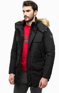 Длинная зимняя куртка с капюшоном Napapijri