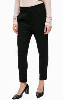 Черные зауженные брюки Drykorn