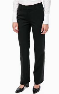 Черные брюки прямого кроя в классическом стиле Drykorn