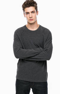 Однотонная футболка с длинными рукавами Drykorn