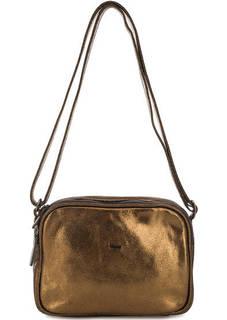Маленькая кожаная сумка через плечо Bruno Rossi