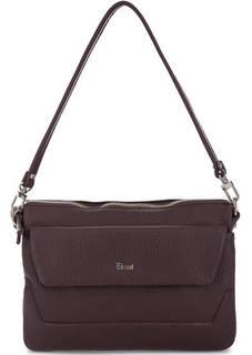 Кожаная сумка с тонким плечевым ремнем Bruno Rossi