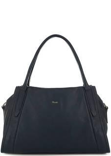 Кожаная сумка со съемным плечевым ремнем Bruno Rossi