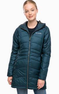Демисезонная удлиненная куртка с капюшоном Columbia