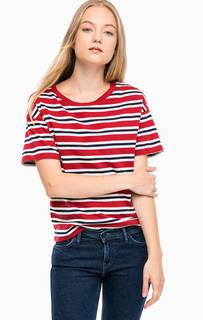 Хлопковая футболка в полоску Levis®