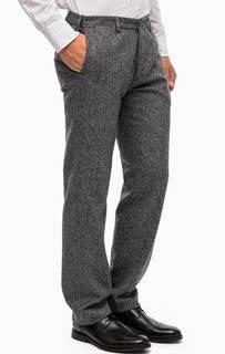 Зауженные серые брюки Gant