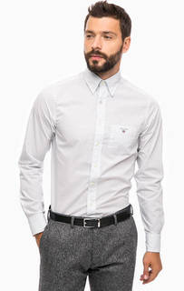 Рубашка из хлопка в мелкий горошек Gant