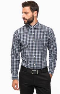 Хлопковая рубашка в клетку с карманом Dockers