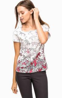 Трикотажная футболка с принтом Olsen